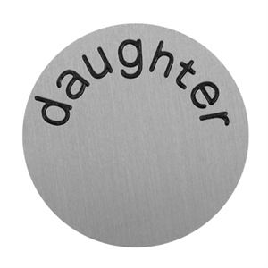 Picture of 'Daughter' Large Silver Coin